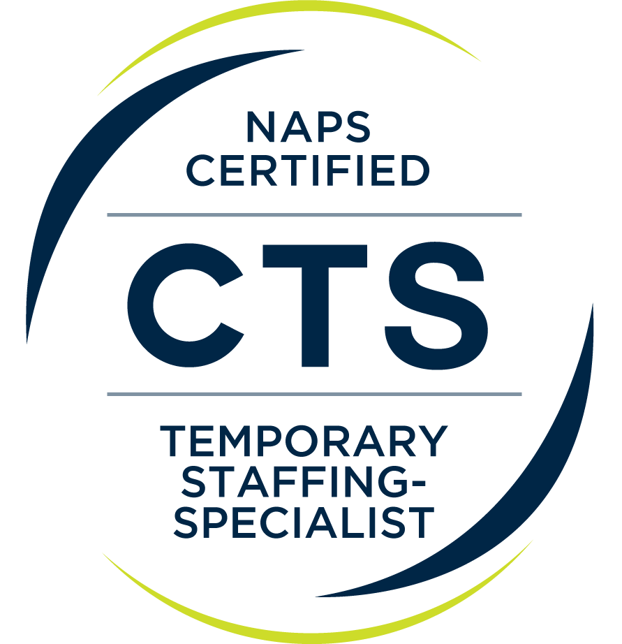 NAPS Certified CTS Temporary Staffing Specialist logo